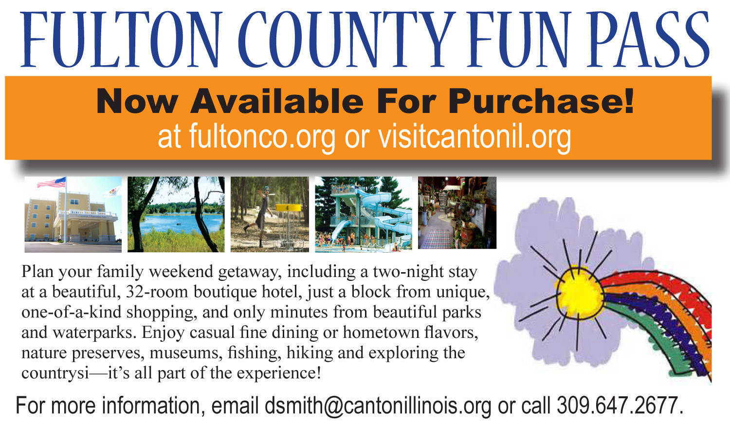 Fulton County Fun Pass Web Available Banner